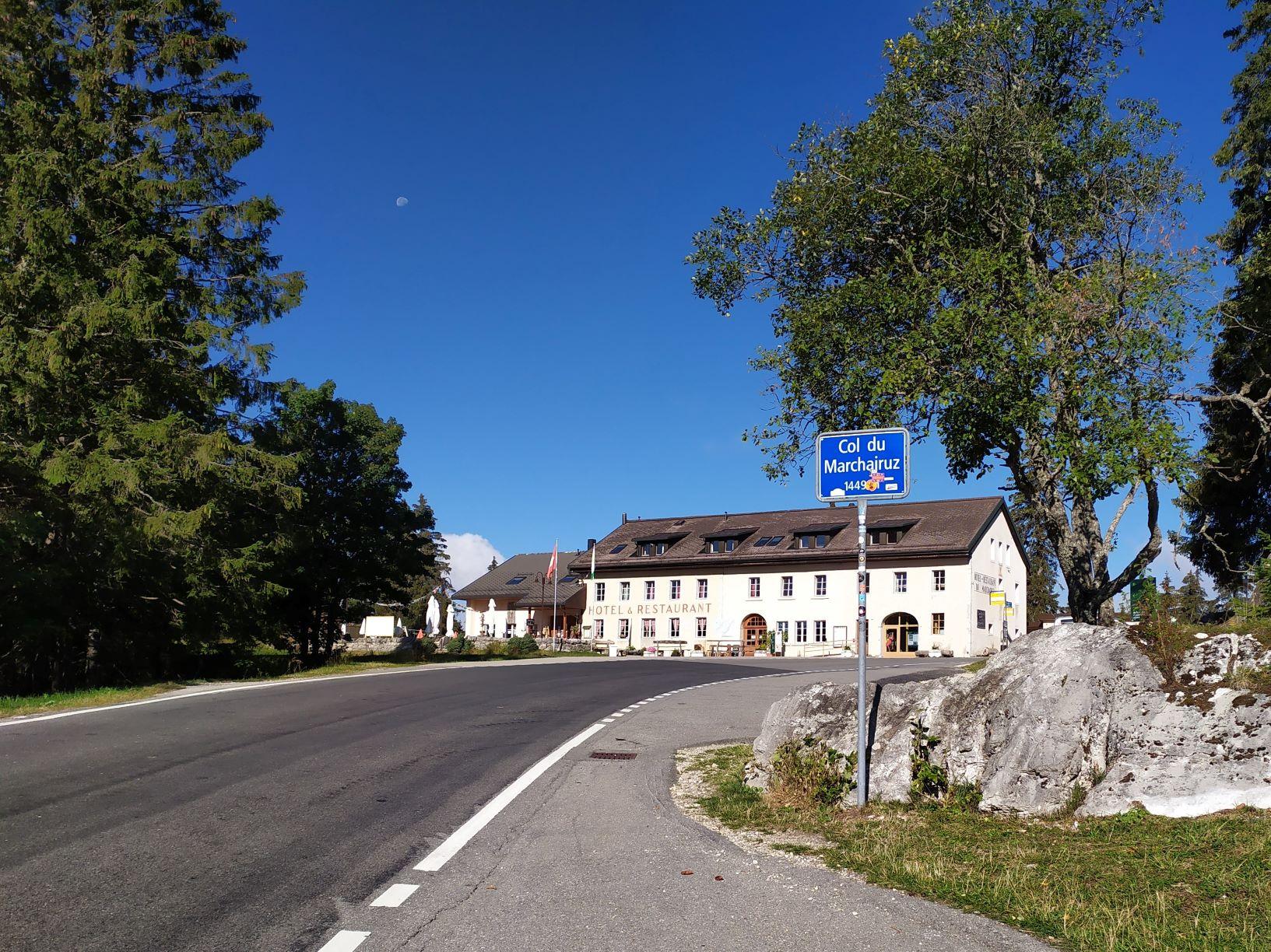 L'Espace découvertes du Parc se trouve dans le bâtiment de l'Hôtel du  Marchairuz.